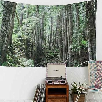 Laura Kicey Forest Tapestry
