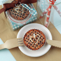 Cute Handmade Apple Pie Candle