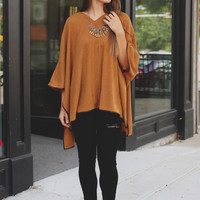 Simple & Chic Poncho