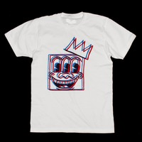 K. Haring - Basquiat  - Mashup Graphic T-shirt - Kings Of NY  by American Anarchy Brand