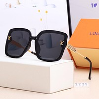 LV New fashion polarized sun protection glasses eyeglasses women 1#
