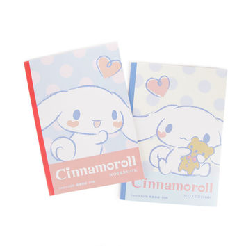 Cinnamoroll 2 Piece B5 Notebook Set: Softy