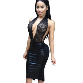 Design 2 Color Western Style Women Dress Sleeveless Sexy Dresses For Ladies Womens Sexy Dresses Party Night Club Dress  BL