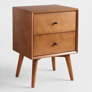 Acorn Wood Brewton Nightstand