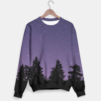 Purple Sky Sweater, Live Heroes