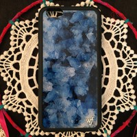 Crystal Blue iPhone Case