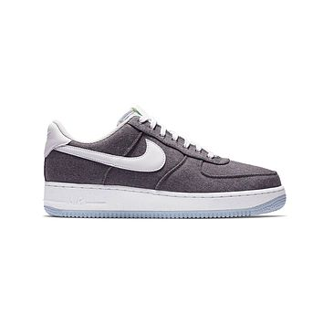Nike Men's Air Force 1 '07 Low Recycled Canvas Gray