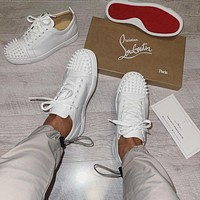 CHRISTIAN LOUBOUTIN 2021 suede sneakers