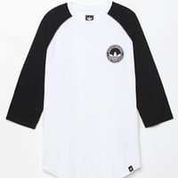 adidas Pitted 3/4 Sleeve Raglan T-Shirt at PacSun.com