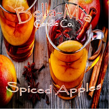 Spiced-Apples Natural Hand Poured Soy Candles