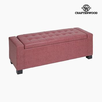 Bench Polyskin Coral (120 x 43 x 42 cm) - Vintage Collection by Craftenwood