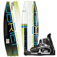 O'Brien System 135 Wakeboard with Device Bindings, Size 7 2140194