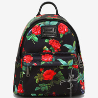 Loungefly Marvel Black Widow Spider Charm Backpack - BoxLunch Exclusive