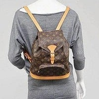 Tagre™ Authentic Vintage Louis Vuitton Unisex Monogram Backpack Shoulder Bag
