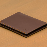 BELLROY SLIM SLEEVE WALLET IN COCOA