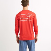 Long-Sleeve Performance Graphic T-Shirt