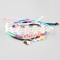 Full Tilt 5 Piece 90S Bracelets Multi One Size For Women 25362895701