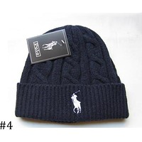 POLO 208 autumn and winter models men and women fashion tide brand wool cap F0908-1 #4