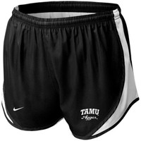 Nike Texas A&M Aggies Women's Tempo Performance Shorts - Black