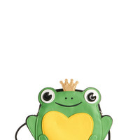 ModCloth Quirky Ribbits in His Kiss Bag