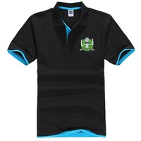 New Fashion Cool Rick Morty Polo shirt Short-Sleeve Camisa funny polo shirts  chemise homme Casual Plus size 3XL polo homme