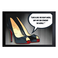 The Right Shoes (Framed)
