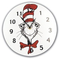 Best Seller Dr. Seuss Cat in the Hat Wall Clock by Trend Lab
