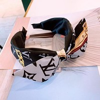 LV Louis Vuitton Newest Fashion Women Bowknot Hair Band Head Hoop Headband Accessories 2#