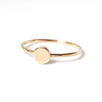 Goldeluxe Jewelry - Circle Stacking Ring
