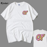 dolphin OF Donut OFWGKTA Awesome Odd Future Sprinkle Donut man boys o-neck plus size cotton short-sleeve T-shirt