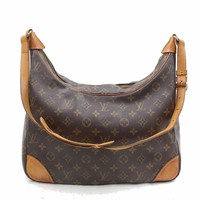 Authentic Louis Vuitton Shoulder Bag Boulogne M51260 Browns Monogram 16913