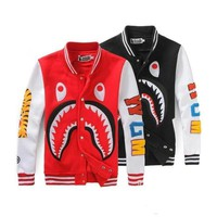 BAPE A BATHING APE bomber jacket