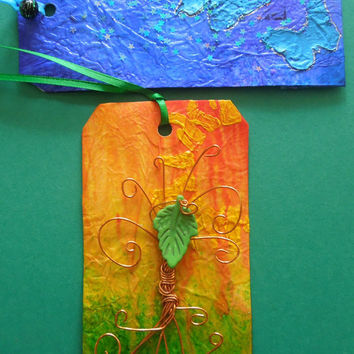 Large Decorative Tags for Art Journals Scrapbooking Display Decorating Altered Books