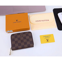 LV Louis Vuitton 2018 new card package women's credit card set small coin purse F/A #4
