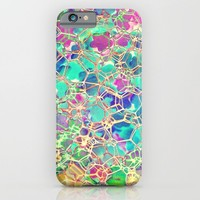 HEXAGONS for iphone iPhone & iPod Case by Simone Morana Cyla