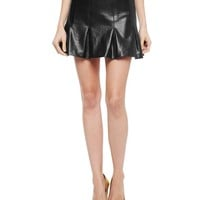 Coated Ponte Circle Skirt by Juicy Couture