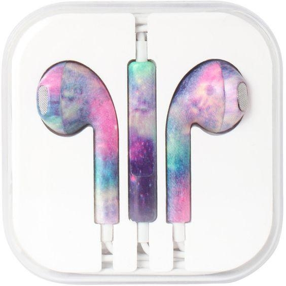 Image of Print Earbuds Iphone headset