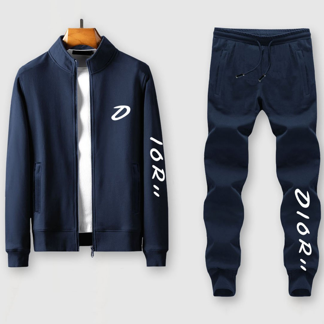 Image of Boys & Men Fashion Casual Edgy Cardigan Jacket Coat Pants Trousers Set Two-Piece