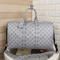 DCCK LV Louis Vuitton MONOGRAM CANVAS KEEPALL 45 SHOULDER BAG TRAVEL BAG