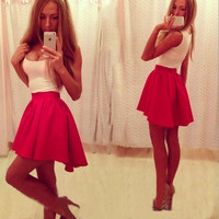 New Fashion Summer Sexy Women Mini Dress Casual Dress for Party and Date = 4661732804