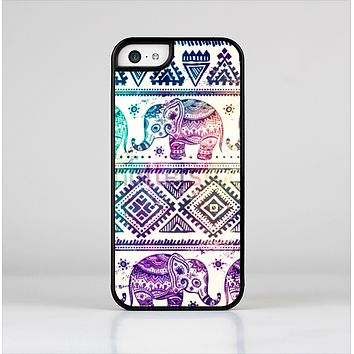 The Tie-Dyed Aztec Elephant Pattern Skin-Sert for the Apple iPhone 5c Skin-Sert Case