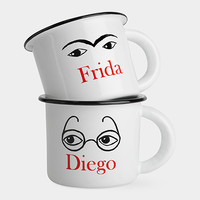 Frida and Diego Mugs | MoMA
