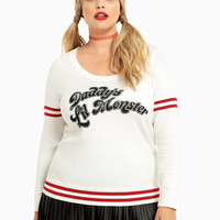 Suicide Squad Collection Daddy's Lil' Monster Sweater