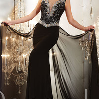 Floor Length Panoply Evening Gown 14641