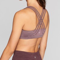 Jacquard Fully Focused Bra | Athleta