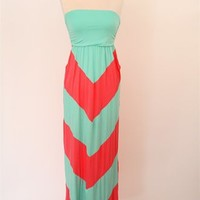 Kissed By The Sun Maxi Dress - Pink at Bluetique Cheap Chic