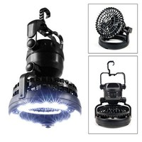 LED Lantern, Image Bright Portable LED Camping Lantern Flashlights with Ceiling Fan, Camping Gear Equipment for Outdoor Hiking, Camping Supplies, Emergencies, Hurricanes, Outages