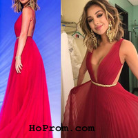 Simple Backless Prom Dresses Chiffon Prom Dress Chiffon Evening Dresses