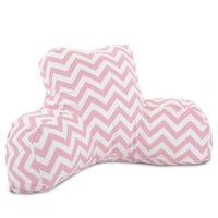 Baby Pink Chevron Reading Pillow