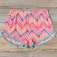 Cloud Break Native Shorts in Pink